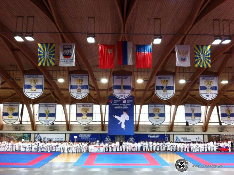 VI Открытый детский турнир по каратэ (WKF) «Первые шаги»